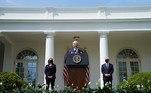 O presidente dosEUA, Joe Biden anunciou algumas medidas para tentar controlar o que ele chamou de uma