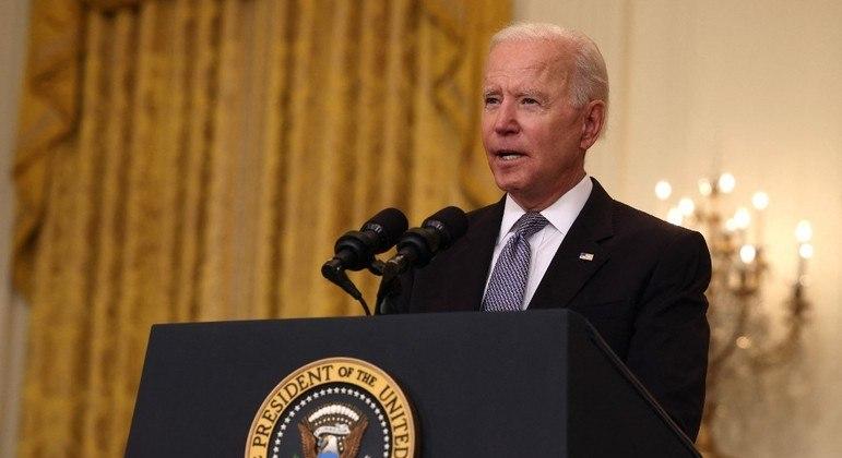 Biden tem evitado criticar as ações militares tomadas por Israel na Faixa de Gaza