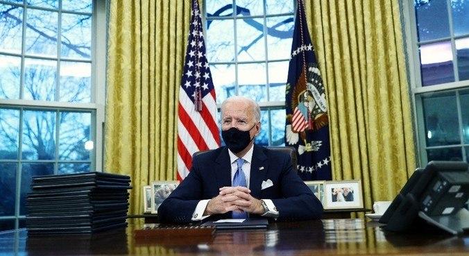 Joe Biden comentou sobre a carta deixada por Donald Trump