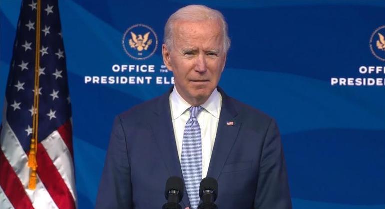 Joe Biden faz pronunciamento sobre invasão ao Congresso dos EUA