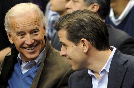 Joe Biden e o filho, Hunter: perseguidos por Trump