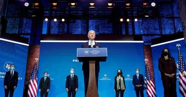 Biden prega união e anuncia equipe de segurança nacional