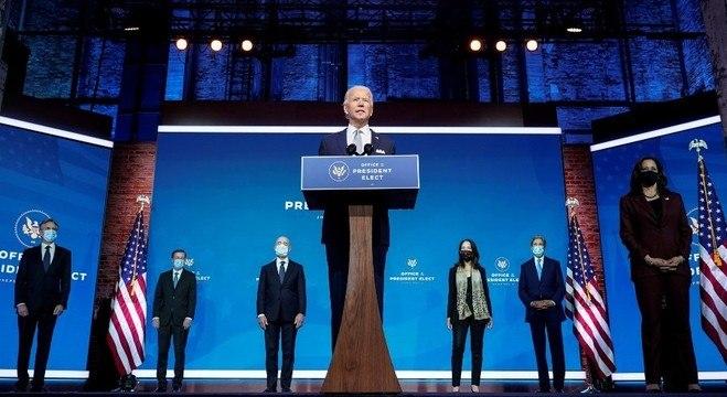 Biden e Harris apresentam seis indicados para fazerem parte do governo