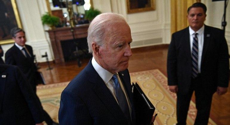 Biden falou que pretende ajudar a organizar esforços para reconstruir a Faixa de Gaza