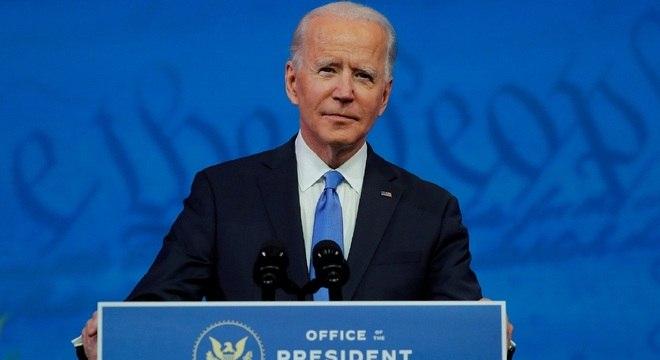 Biden fez pronunciamento após confirmação da vitória pelo Colégio Eleitoral