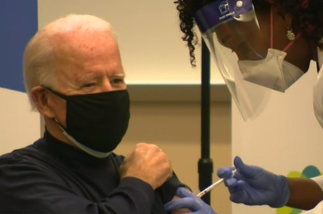 Joe Biden já foi vacinado contra a covid-19