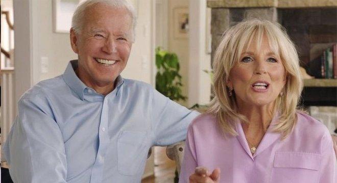 Joe e Jill Biden estão casados há mais de 40 anos