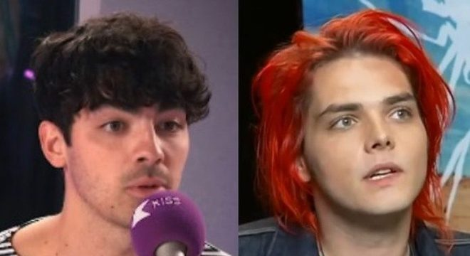 Joe Jonas e Gerard Way (My Chemical Romance)