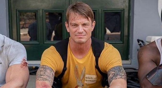 Joel Kinnaman é conhecido por seu papel em 'Esquadrão Suicida'