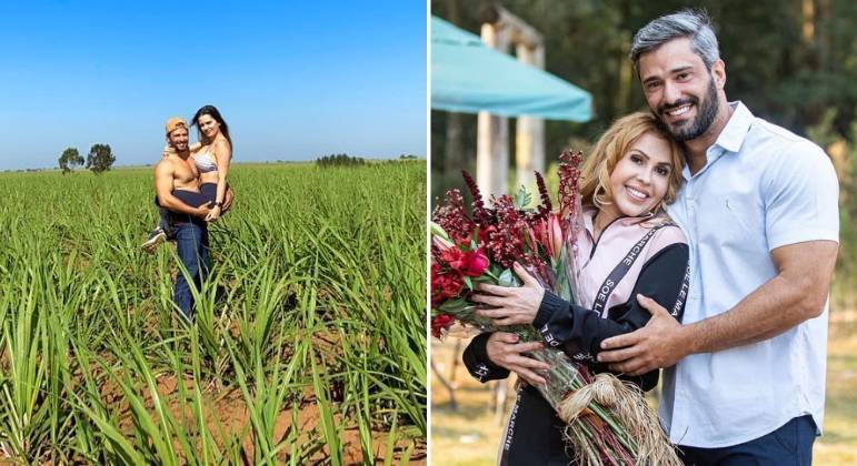 Após desmentir affair com Joelma, fazendeiro assume namorada
