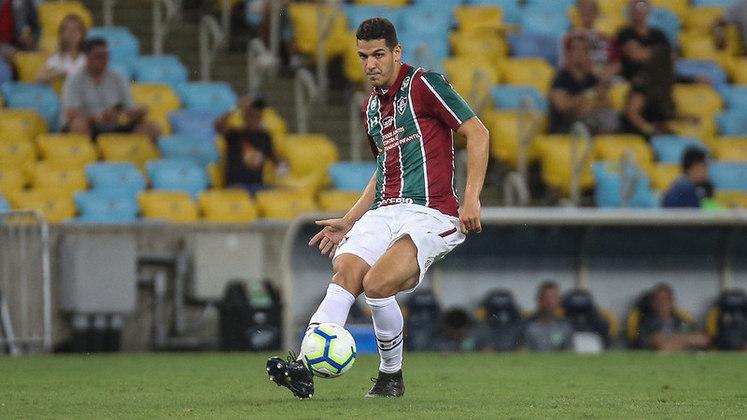 Jogador com mais cortes defensivos: Nino, Fluminense - 9 cortes
