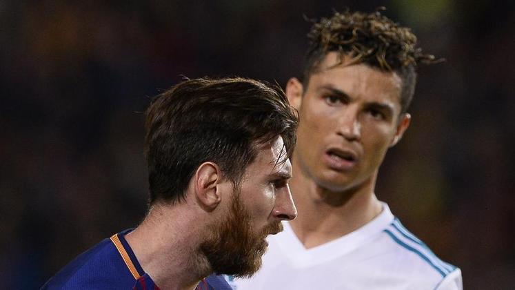 Jogador que mais marcou gols em diferentes equipes na Liga dos Campeões. Messi marcou contra 36 times diferentes, enquanto Cristiano Ronaldo, contra 35.