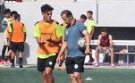 Euller, o Filho do Vento, mora na Espanha e é treinador do time Safor Fútbol, que foi fundado em 2018 e fica na região de Valência