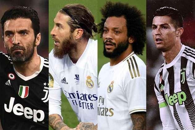Jogadores considerados medalhões do futebol europeu estão com o futuro incerto no Velho Continente. A reportagem mostra nomes de atletas conhecidos que podem mudar de clube nesta janela de transferências.