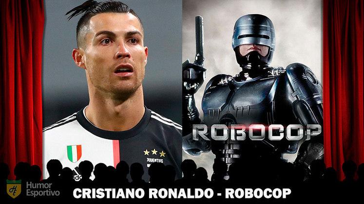 Jogadores e filmes: Cristiano Ronaldo, o robozão, seria o Robocop