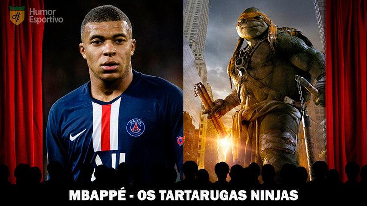 Jogadores e filmes: Mbappé é uma das
