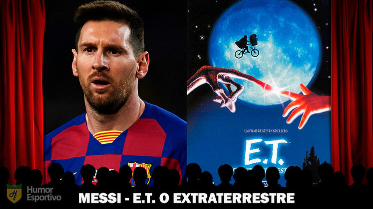 Jogadores e filmes: Messi é o E.T