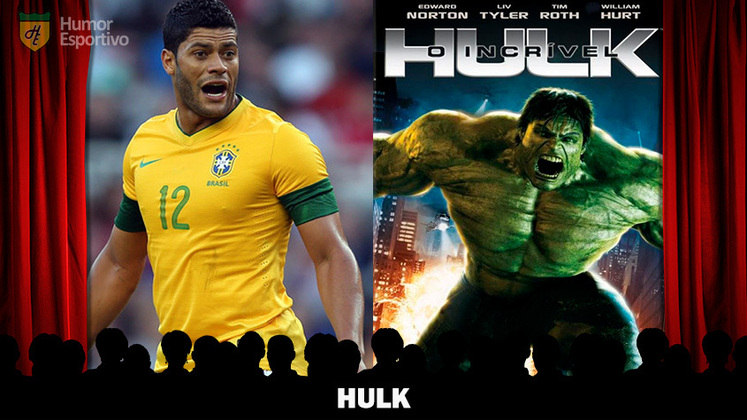 Jogadores e filmes: Nada mais óbvio que o Hulk ser o super-herói