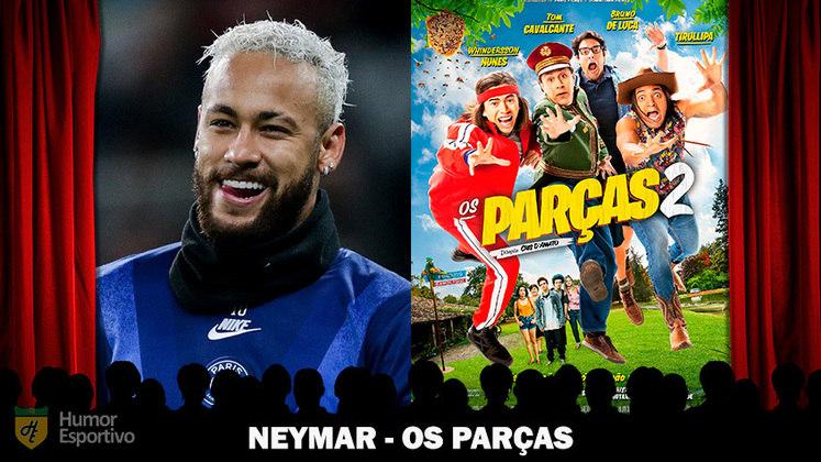 Jogadores e filmes: Neymar seria uma estrela de