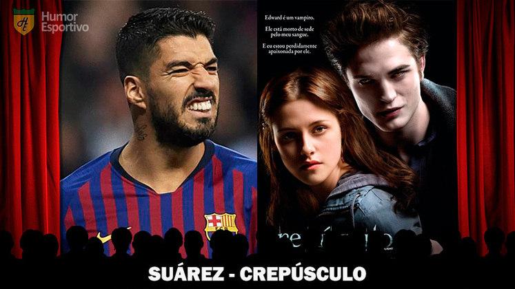 Jogadores e filmes: o vampiro Suárez seria personagem em