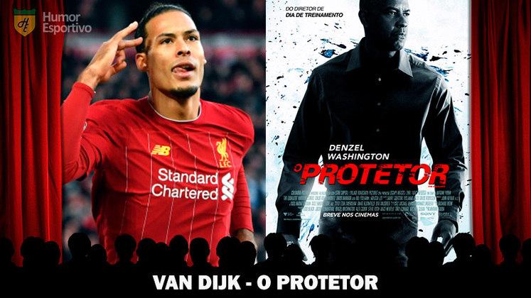 Jogadores e filmes: o zagueirão Van Dijk seria