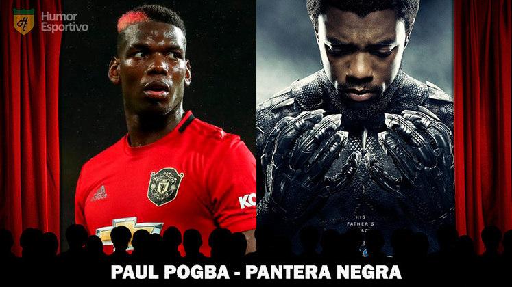 Jogadores e filmes: Paul Pogba seria o Pantera Negra
