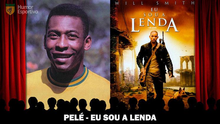 Jogadores e filmes: Pelé é a estrela de