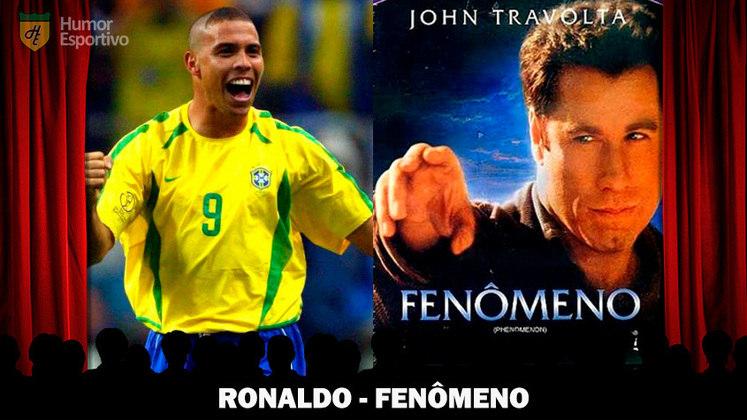 Jogadores e filmes: Ronaldo é o
