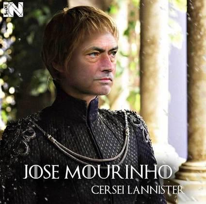 Jogadores e técnicos viram personagens de GoT: José Mourinho