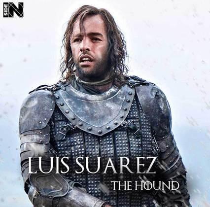 Jogadores e técnicos viram personagens de GoT: Luisito Suárez