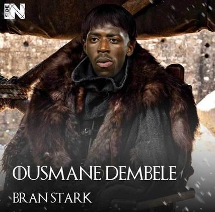 Jogadores e técnicos viram personagens de GoT: Ousmane Dembélé