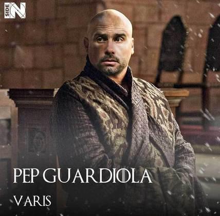 Jogadores e técnicos viram personagens de GoT: Pep Guardiola