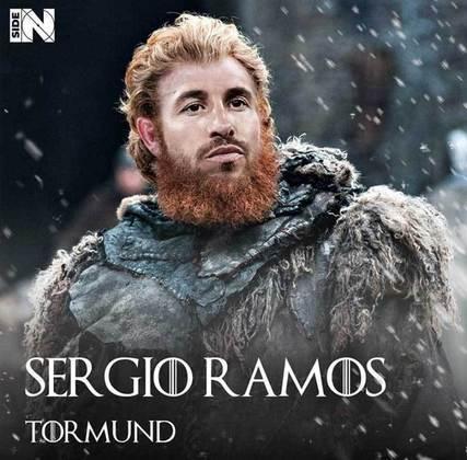 Jogadores e técnicos viram personagens de GoT: Sergio Ramos