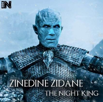 Jogadores e técnicos viram personagens de GoT: Zinedine Zidane