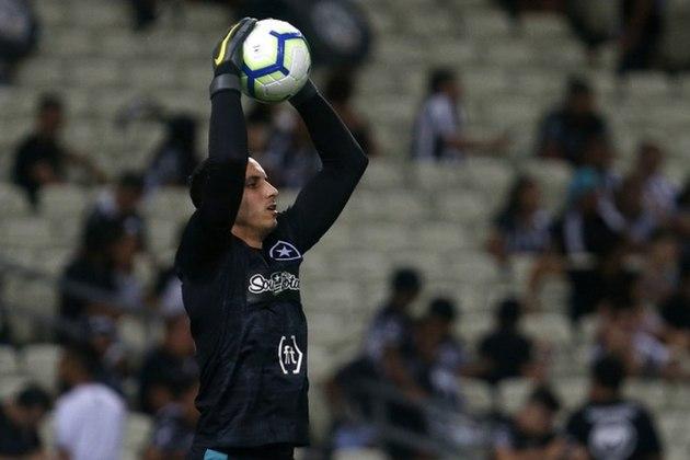 Gatito Fernandez - Botafogo - 32 anos - goleiro - paraguaio