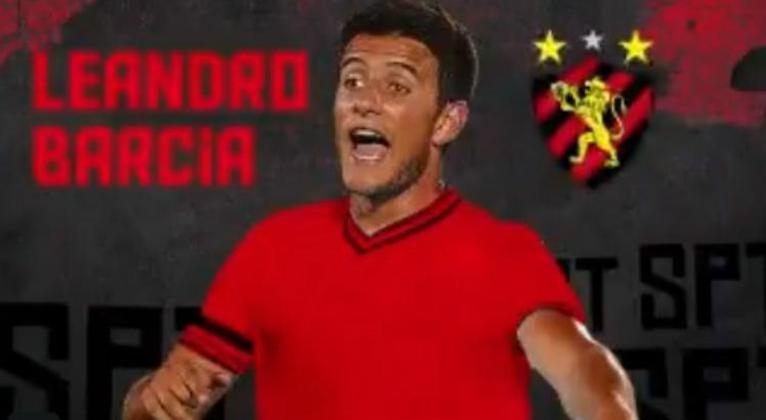 Leandro Barcia - Sport - atacante - 27 anos - uruguaio