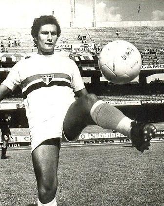 12º - Pedro Rocha - uruguaio - 30 gols em 131 jogos - clubes que defendeu: São Paulo, Coritiba, Palmeiras e Bangu
