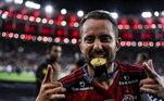 7º – Éverton Ribeiro - Flamengo - 3 milhões de seguidores