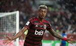 6º – Bruno Henrique - Flamengo - 3,6 milhões de seguidores
