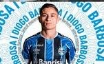 49º – Diogo Barbosa - Grêmio - 588 mil seguidores