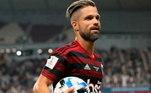 4º – Diego Ribas - Flamengo - 4,2 milhões de seguidores