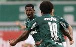 20º – Ramires - Palmeiras - 1,3 milhão de seguidores