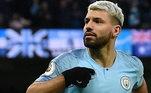 25º - Sergio Agüero (Argentina - Manchester City) - 42 milhões de euros (R$ 256 milhões)