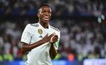 18º - Vinícius Jr (Brasil - Real Madrid) - 50 milhões de euros (R$ 305 milhões)