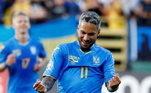 Marlos, ex-Coritiba e São Paulo, joga pelo Shakhtar Donetsk desde 2014 e naturalizou-se ucraniano em 2017. Um dia depois da documentação pronta, ele foi convocado para defender o país nas Eliminatórias da Copa de 2018