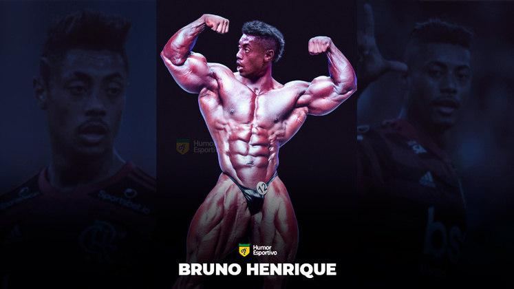 Jogadores ou fisiculturistas? O resultado com Bruno Henrique!