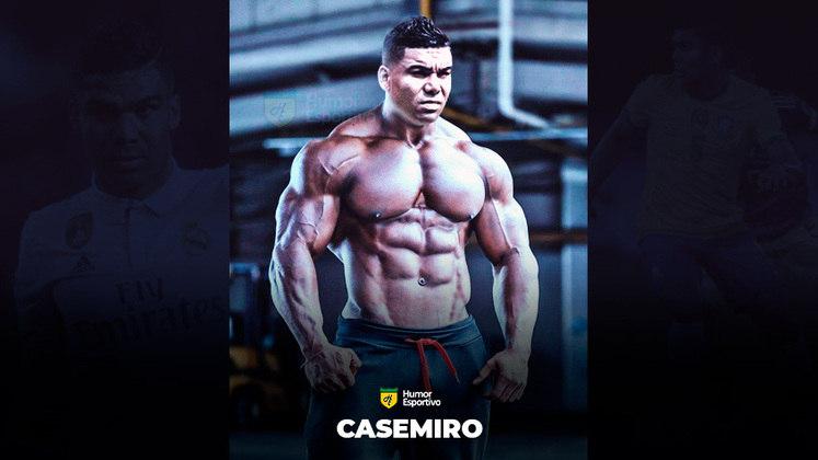 Jogadores ou fisiculturistas? O resultado com Casemiro!