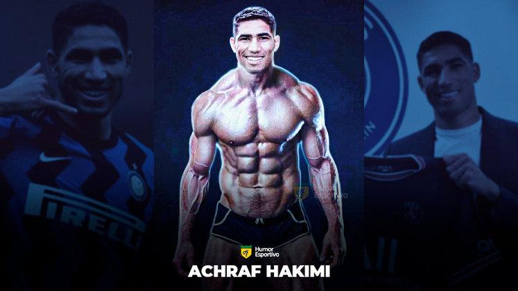 Jogadores ou fisiculturistas? O resultado com Hakimi!