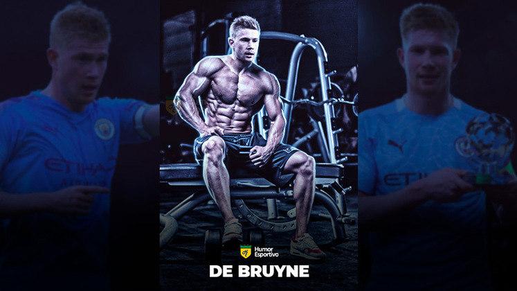 Jogadores ou fisiculturistas? O resultado com Kevin De Bruyne!