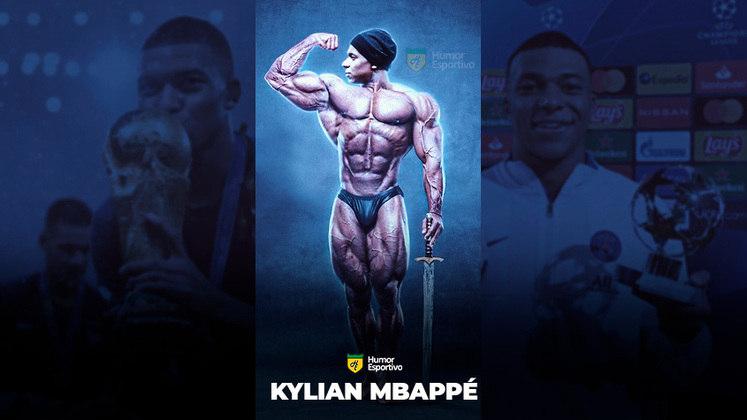 Jogadores ou fisiculturistas? O resultado com Kylian Mbappé!